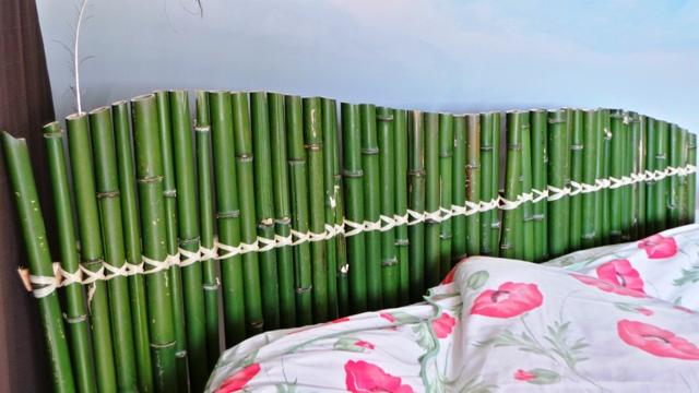 tête de lit bambou · Lou Art Déco